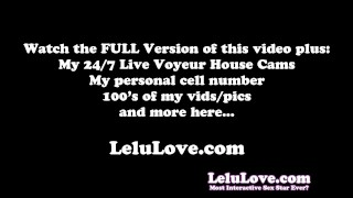 Lelu Love-Leather Jacket Pantyhose FemDom denial feet domination homemade femdom teasing amateur solo natural-tits brunette lelu-love fetish foot-worship hd humiliation high-heels