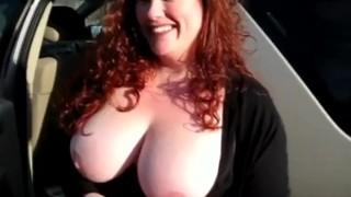 Housewife Has first Gloryhole Experience redhead homemade homegrownvideo amateur blowjob gloryhole jizz cumshot big-boobs big-tits chubby bbw housewife busty