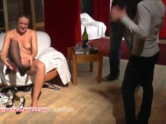 Hardcore fuck and interview with horny czech MILF