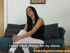 FakeAgent Horny babe with amazing body fucked hard in office