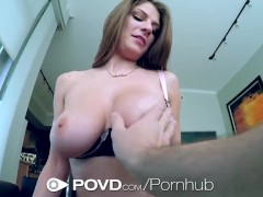 HD POVD - Dillion Carter with nice tits gets fucked in pov