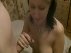 18 yo Cute Teen babe Tia teasing her BF for a fuck