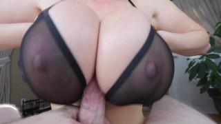 Kianna Dior - Sheer Bra Titfuck tittyfuck foreplay asian canadian pov-tittyfuck tease big-tits big-boobs tit-fuck big-dick brunette titty-fuck point-of-view titty-fuck-pov