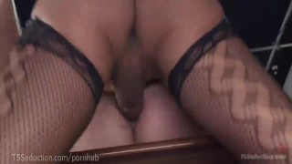 Gorgeous TS Secretary Dominates Boss  seduction thai tranny punish fishnet asian cum domination kink rimming brunette ts tsseduction anal big-dick stockings shemale trans