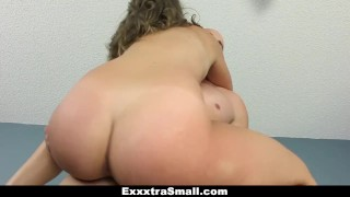 ExxxtraSmall - Brace-Faced Spinner Gets Fucked on Fathers Day
