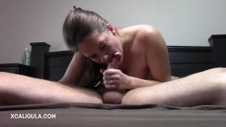 Preview 6 of Azzurra stuffing her mouth in 69