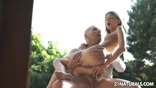Preview 6 of Sex-obsessed Doris Ivy's sensual anal romance