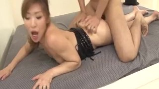 Koda Riri Asian milf enjoys young cocks in her  short-skirt hardcore-action cock-sucking dick-riding pussy-licking doggy-style javhd pink-pussy hot-milf rear-fuck creamed-pussy 3some tit-licking fingering headfuck nice-ass