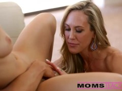 Surprise threesome wit... -