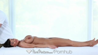 PureMature - Career woman Lisa Ann unwind with a sexy message  lisa-ann italian huge-tits big-tits hd trimmed booty old mom blowjob cumshot fake-tits milf hardcore piercing puremature brunette mature doggystyle