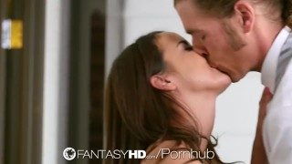FantasyHD - Cutie housekeeper Dillion Harper gets naughty