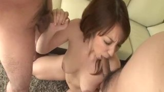 Dashing trio along big tits milf Araki Hitomi  hand-work hardcore-action dick-riding tit-fuck pussy-licking doggy-style double-blowjob javhd busty hairy-pussy hot-milf group-action 3some tit-licking fingering deep-penetration