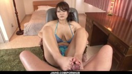 Big tits milf, Airi Ai, wants cock in each of her holes
