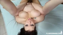 Goth Busty Plumper Kitty McPherson is Banged by Dark Dick