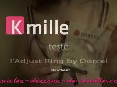 Kmille teste l'Adjust Ring by Dorcel