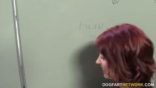 Jessica Ryan cheats her boyfriend in a gloryhole redhead hardcore glory-hole handjob blowjob big-cock gloryhole cheating dogfartnetwork-com pornstar cumshot natural-tits dogfartnetwork big-dick fetish facial