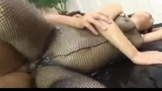 Miyo Kasuge gets cock and lotion over body cumshot creamed-cunt wet-body 3some fishnet-lingerie pussy-creampies cum alljapanesepass busty rear-fuck