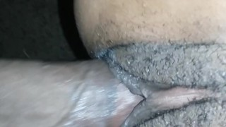 I love squirting on that dick  squirting big-dick close-up cock-sucking big-cock home-made ebony redhead couple pov amateur blowjob