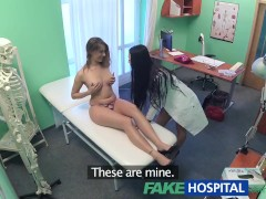 FakeHospital Sexy horny nurse seduces patient