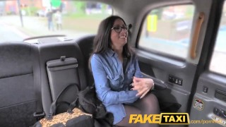 Preview 3 of FakeTaxi Spanish babe has great tits and ass