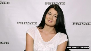 Sexy Busty Lucy Li thinks this porn casting...