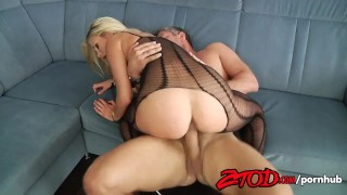 Laura Crystal Crotchless Creampie