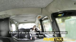 FakeTaxi Cabbie enjoys his fantasy fuck  euro faketaxi rough hardcore ass-fuck british blowjob rimming deepthroat spycam big-tits anal pov tit-fuck brunette english reality camera petite