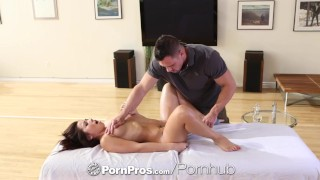 PornPros - Sexy Asian Morgan Lee gets the rub down of a life time  morgan-lee babe creampie hd doggy-style asian blowjob massage oiled female-friendly hardcore natural-tits pornpros shaved small-tits