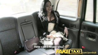 FakeTaxi Ebony gets down and dirty  british oral ebony blowjob amateur hot public english camera naughty faketaxi rimming spycam reality rough gagging deepthroat jasmine-webb