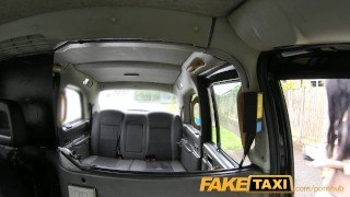 FakeTaxi Cute escort rides cock for cash  tits british point-of-view blowjob amateur public camera faketaxi rimming spycam car brunette deepthroat