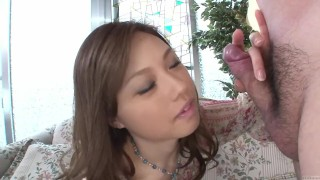 Uncensored Japanese Ayumu Sena blowjob interview Subtitled
