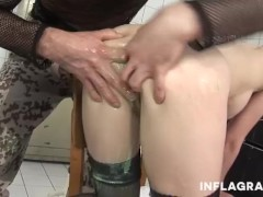 INFLAGRANTI German Anal Squirting Rainbow