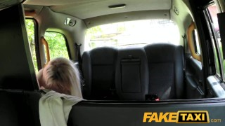FakeTaxi Hot blonde fucks new cabbie  tits british huge-tits oral amateur blowjob public pov fake-tits camera faketaxi spycam car reality dogging deepthroat