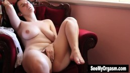 Busty Aeryn Masturbates For Or