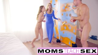 Preview 6 of Teen caught by mom punished with fuck lesson