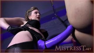 huge strapon fucking femdom female-domination adult-toys ass-fuck bondage beautiful-mistress big-strapon