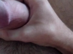 Jerking Off While Masterbating