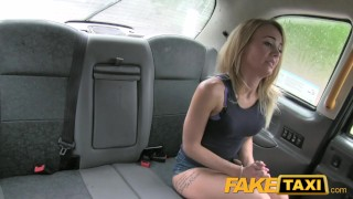 FakeTaxi Great ass and tight shaved pussy  tits taxi british oral point-of-view blonde blowjob amateur public camera faketaxi spycam car dogging rough