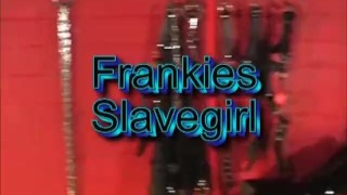 Sexy blonde femdom spanks slavegirl ass and orders her to fuck big cock toy sex-toy slave-girl femdom spanking blonde babe latex submissive-slut riding-dildo bdsm adult-toys big-boobs big-tits bondage frankiebabe girl-on-girl