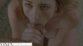 Vixen Kendra Sunderland finally fucked by her fathers friend  deep-throat blonde riding blowjob babe big-boobs big-tits pov big-dick reverse-cowgirl exclusive pussy-licking titty-fucking vixen busty doggystyle facial
