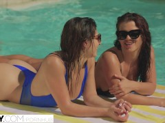 TUSHY First Anal For Best Friends Keisha Grey and Leah Gotti