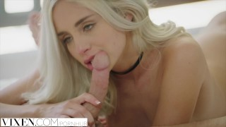 Vixen.com Sexy blonde fucked by Step Brother  riding creampie step-brother suck vixen sucking small blonde blowjob bikini cowgirl reverse-cowgirl step-sister petite doggystyle