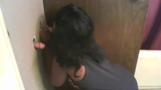 black girl gloryhole  smoking black-girl-white-guy gloryhole
