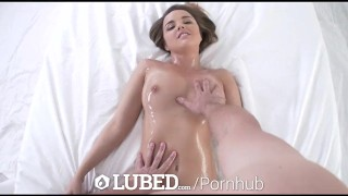 LUBED - Oiled up massage and wet pussy fuck with Dillion Harper  raven big-cock big-tits hd sexy blowjob fetish massage oiled hardcore dillion-harper sex drilled porn bubble-butt xxx lubed