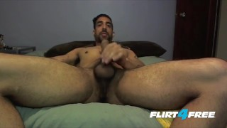Preview 6 of Tatted and Toned Samir Hott Puts His Big Cock to Work