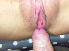 Nice Pussy Close up and Fucking My Horny Girlfriend