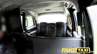 FakeTaxi Petite teen with big tits gets dick  british teen big-tits oral point-of-view sexy amateur blowjob public pov camera faketaxi spycam car reality deepthroat
