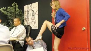 Jillian Janson Femdom  kink office outside humiliation ass-worship femdom public
