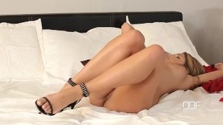 1ByDay - French Sex Goddess Eva Parcker cums hard for Anal