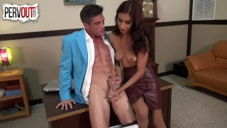 Lance Hart fucks his secretary Jade Jantzen PANTYHOSE SEX  lance-hart pantyhose kink latina shiny-pantyhose sweetfemdom jade-jantzen ripped-bodies fit office-sex